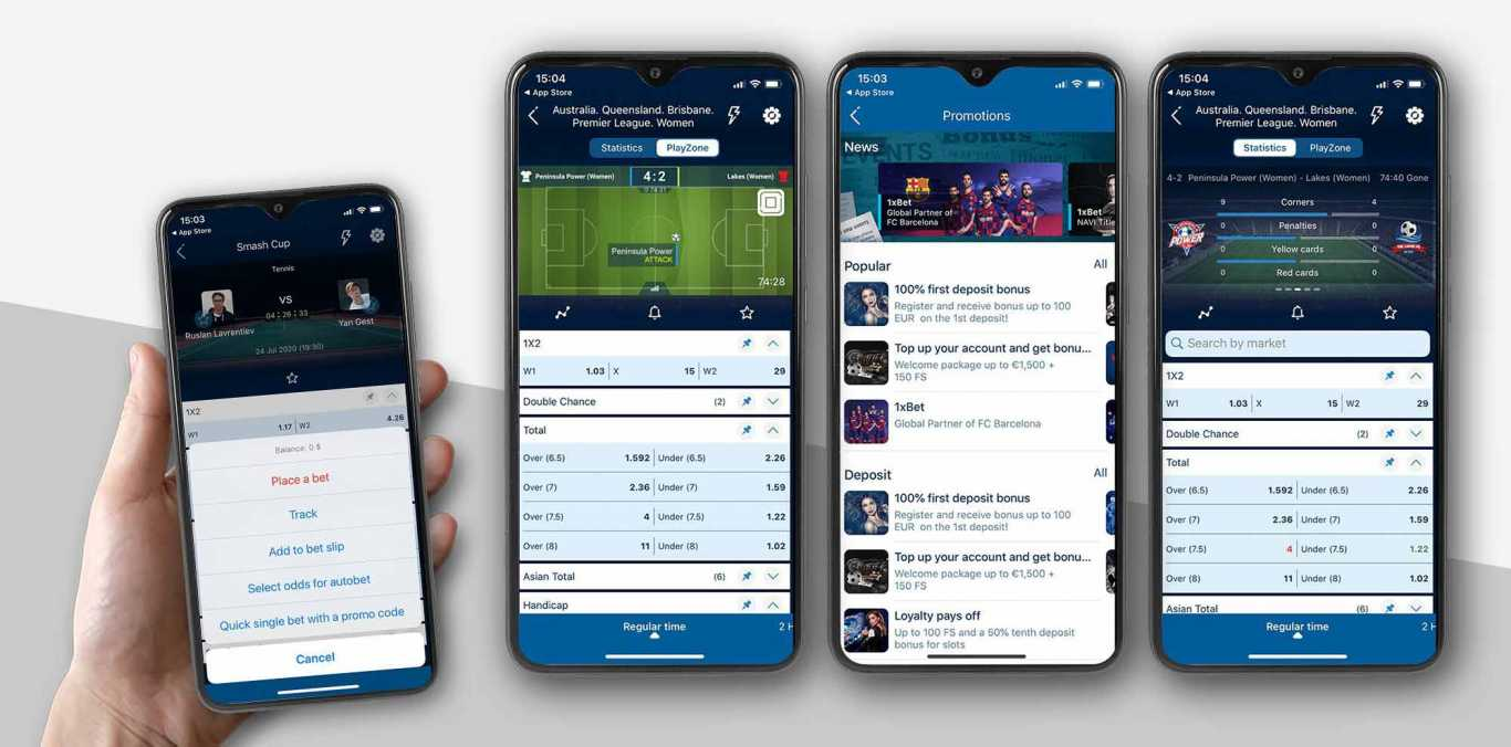 download 1xBet app Android